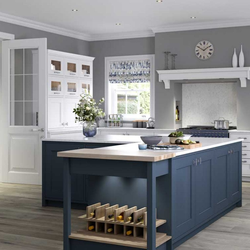 Masterclass Kitchens - Classic hand painted Ashbourne at Counter Interiors