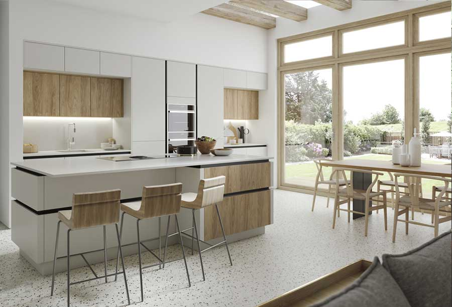 H-Line kitchens by Masterclass, available from Counter Interiors, York