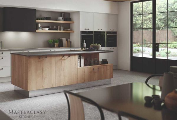 Modern kitchens by Masterclass, available from Counter Interiors, Yorkl