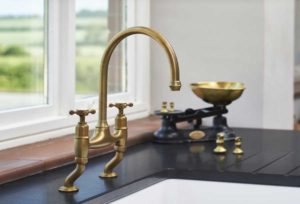 High quality kitchen taps and sinks from Perrin & Rowe are designed with the most luxurious locations in mind. Available at Counter Interiors, York.
