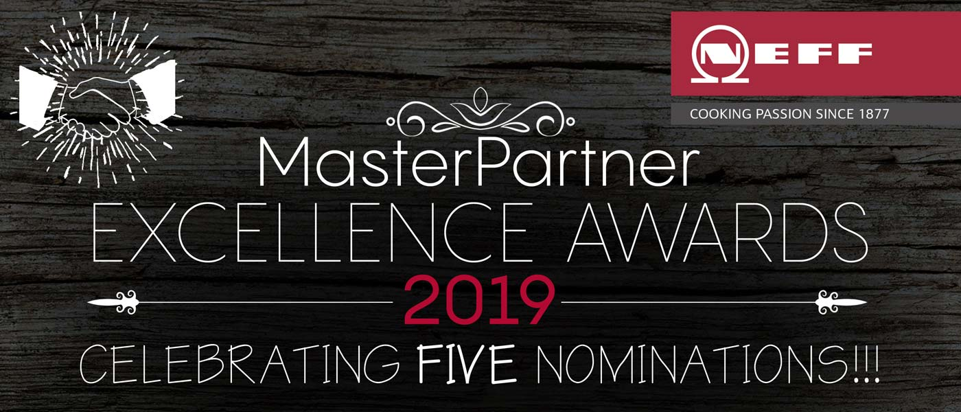Counter Interiors take home three Neff MasterPartner Excellence awards 2019