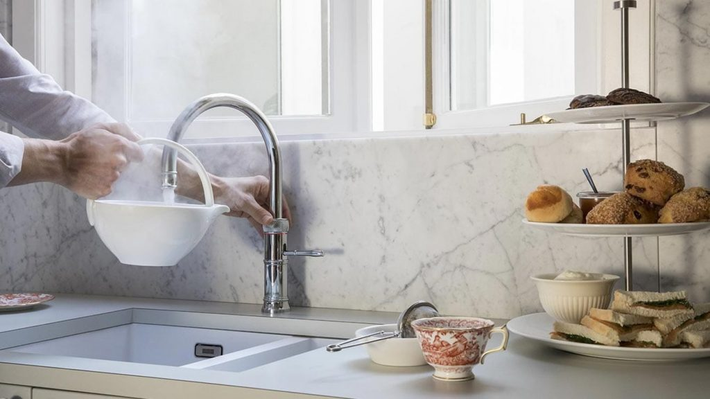 Discover Quooker Classic Fusion Round Boiling Water Tap at Counter Interiors of York