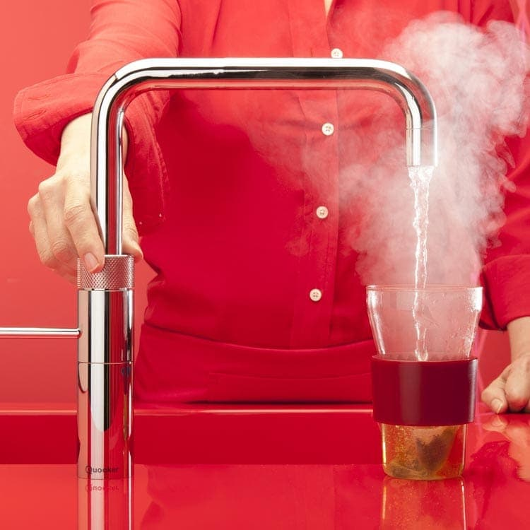 Discover Quooker Fusion Square Boiling Water Tap at Counter Interiors of York
