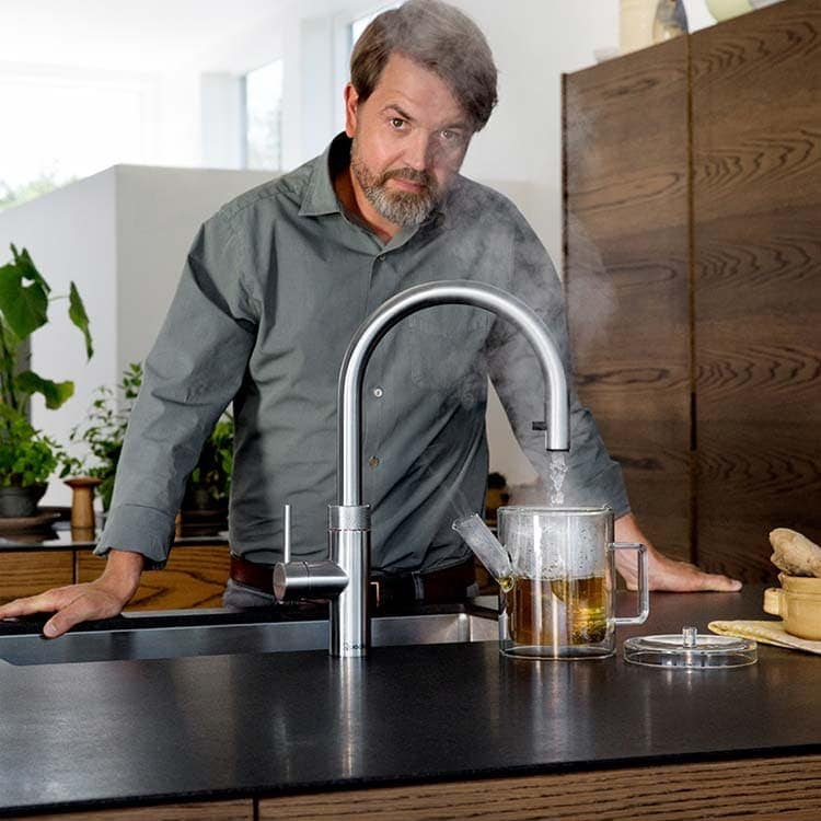 Discover Quooker Flex Boiling Water Tap at Counter Interiors of York