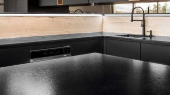 Cosentino Sensa suede Natural Granite available at Counter Interiors, York