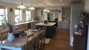 Marlborough Dust Grey and Lava - kitchen installation by Counter Interiors of York