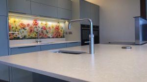 Centro Sage Green - kitchen installation by Counter Interiors of York