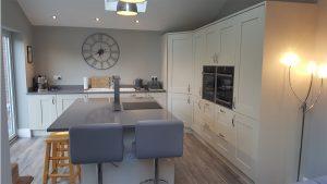 Chatsworth Light Grey - kitchen installation by Counter Interiors of York
