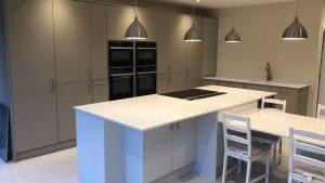 Hampton Biscuit - kitchen installation by Counter Interiors of York