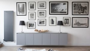 Sutton Dust Grey - Living space installed by Counter Interiors of York