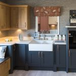 Sherbourne Graphite and Oak - kitchen installation by Counter Interiors of York