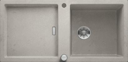 Blanco Adon Concrete Silgranit at Counter Interiors, York